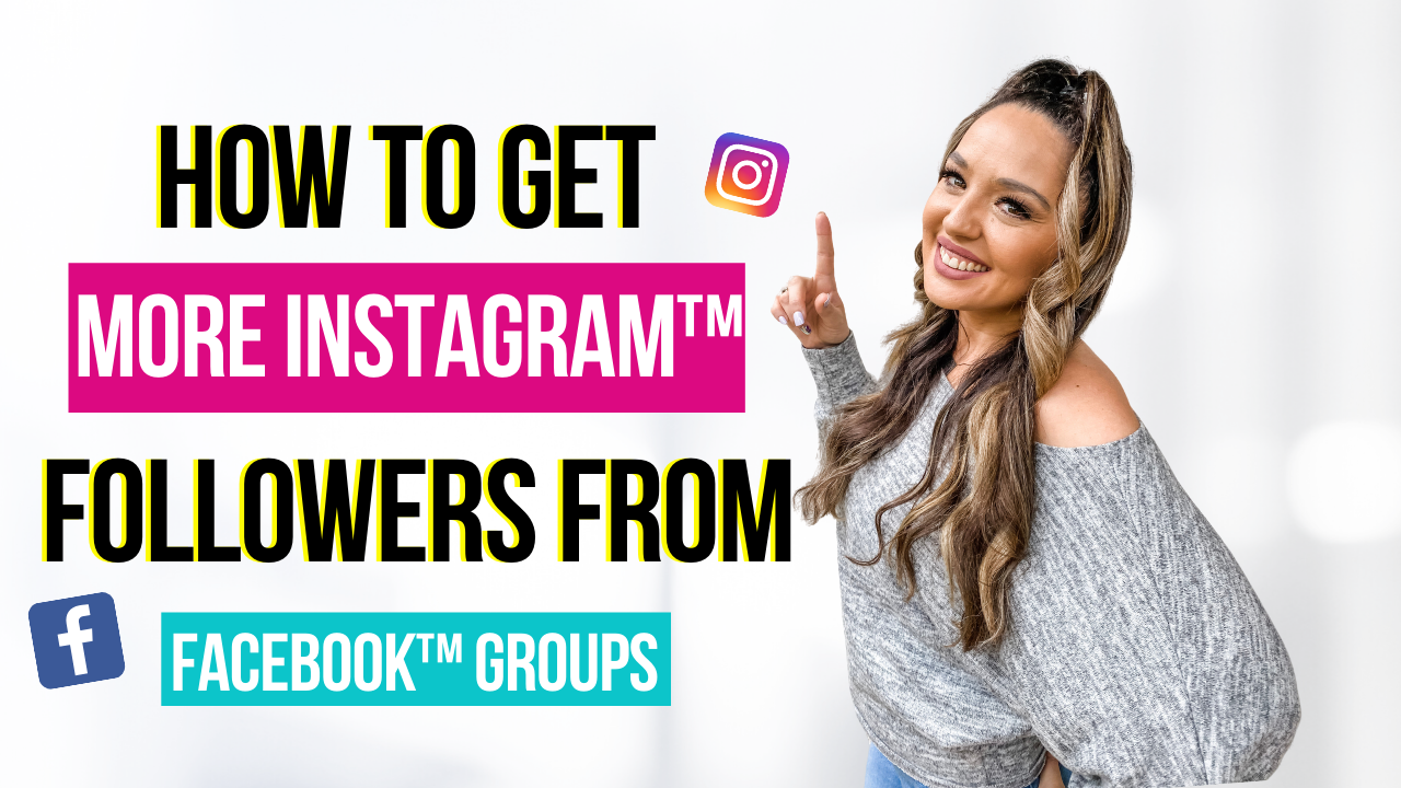 How to Get More Instagram Followers From Facebook Groups
